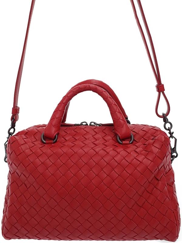 SA Túi đeo chéo Bottega Veneta màu đỏ