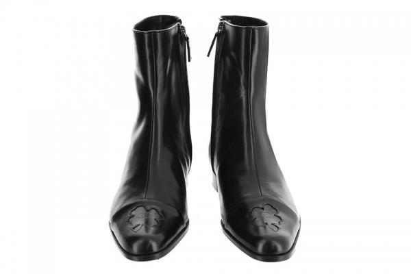 S Boot cổ ngắn Chanel màu đen size 36 C
