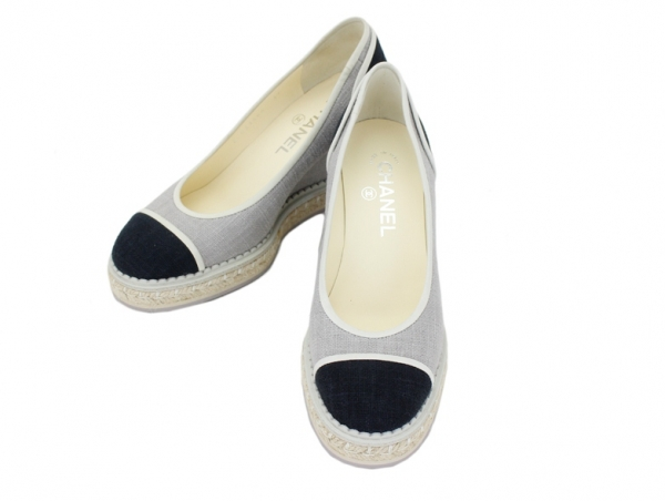 SA Giày cao gót Chanel màu đen size 37