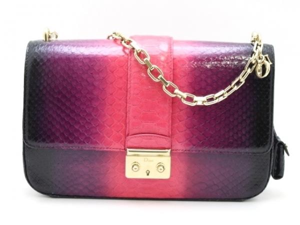SA Túi xách Christian Dior màu hồng tím