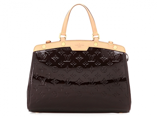 SA Túi Louis Vuitton brea MM tím mận M91619