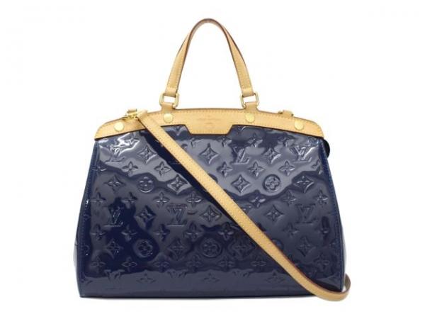 SA Túi Louis Vuitton brea MM xanh đen M90054