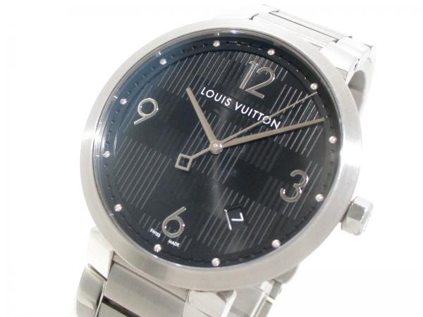 Đồng hồ Louis Vuitton màu bạc Q1D00