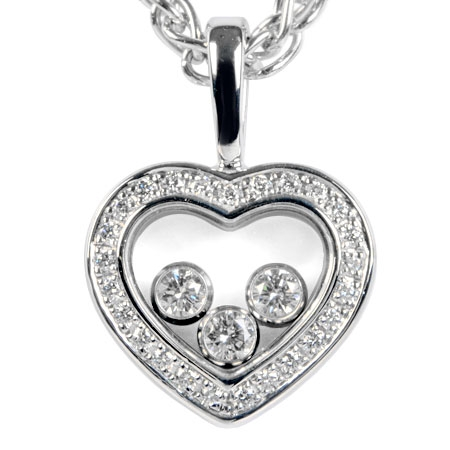 SA Vòng cổ Chopard Happy Diamond