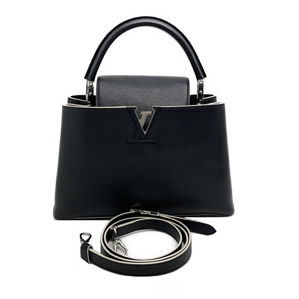 SA Túi xách Louis Vuitton Capucines PM màu đen