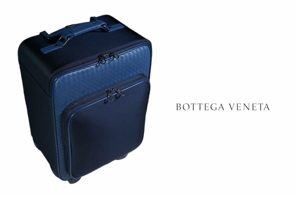 S Vali du lịch Bottega Veneta màu xanh