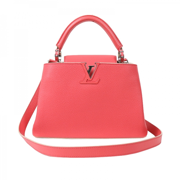 SA Túi xách Louis Vuitton Capucines BB màu hồng