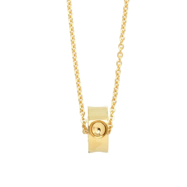 S Vòng cổ Louis Vuitton Empreinte Pendant Yellow Gold