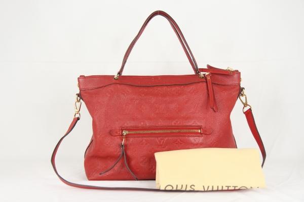 Túi Louis Vuitton da bê đỏ cam M41169