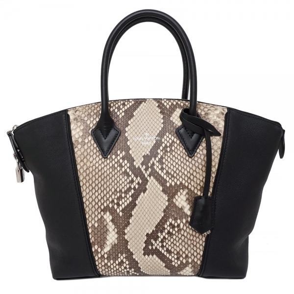 S Túi xách Louis Vuitton parnacea Rockit da trăn