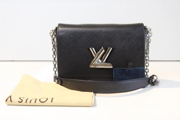 MS Túi xách nữ Louis Vuitton twist MM epi đen