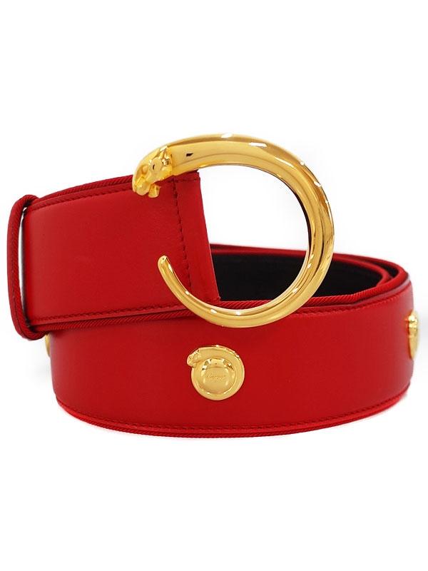 SA Thắt lưng nữ Cartier đỏ Pantail size M