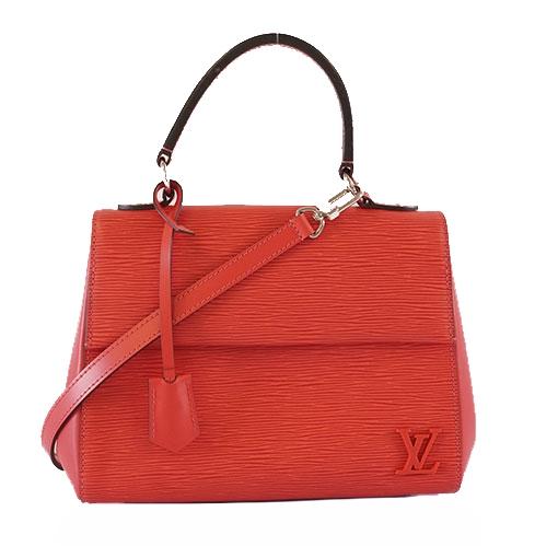 Túi xách Louis Vuitton epi cluny bb