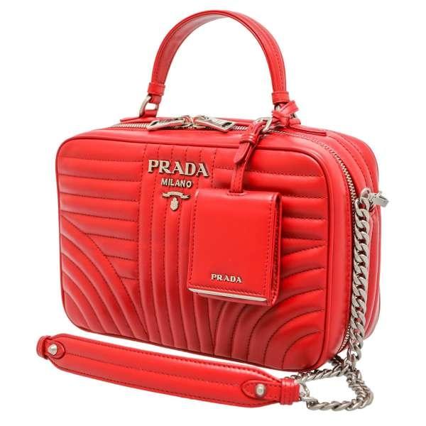 S Túi xách Prada đỏ BH119