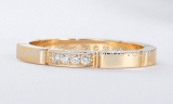 Nhẫn Cartier K18 diamond size 18