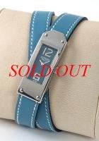 NEW Đồng hồ Hermes nữ KT1.210 màu xanh blue jean