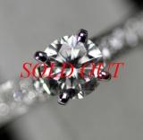 HÀNG HIẾM Nhẫn Cartier full diamond size 9 Pt950 0.41ct