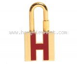Hermes cadenas gold plated