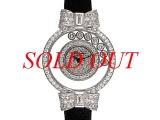 NEW Đồng hồ hiệu CHOPARD happy diamond K18WG