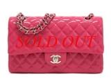 LIMITED Túi Chanel classic màu hồng