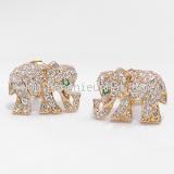 COLLECTION Bông tai Cartier kim cương hình voi