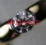 Nhẫn Tiffany&Co diamond K18YG size 11 0.39ct