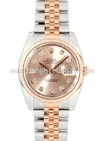 NEW Đồng hồ Rolex datejust 116231G đồng hồ nam K18PGxSS