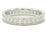 Nhẫn Cartier full diamond size K18WG