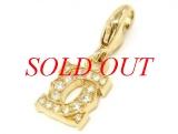mặt dây chuyền Cartier K18YG full diamond
