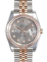 NEW Đồng hồ Rolex DATEJUST 116231 đồng hồ nam K18PG SS