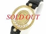 Đồng hồ Chopard nữ happy diamond K18YG x diamond