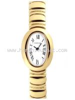 USED Đồng hồ Cartier MINI BAIGNOIRE đồng hồ nữ K18YG