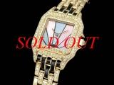 USED Đồng hồ Cartier PANTHERE SM đồng hồ nữ K18YG