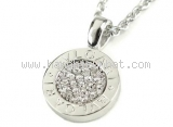 Vòng cổ BVLGARI K18WG diamond