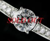 HÀNG HIẾM Nhẫn Cartier full diamond size 9 Pt950 0.63ct