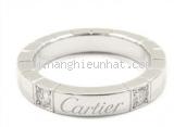 Nhẫn Cartier logo kim cương 2P