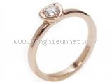 Nhẫn Cartier diamond size 47 vàng hồng PG