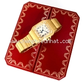 Đồng hồ Cartier nam santos k18YG