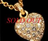 Vòng cổ Cartier K18YG diamond