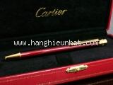 NEW Bút bi Cartier màu đỏ