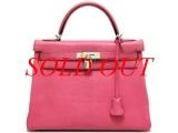 Túi Hermes kelly 32 fushia pink
