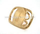 MS5008 Kẹp khăn Salvatore Scarf ring móng ngựa vàng