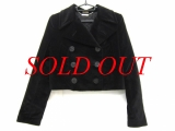Áo khoác ALEXANDER McQUEEN size 38 màu đen