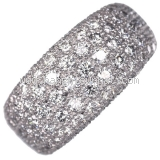 LIMITED Nhẫn Cartier kim cương full diamond
