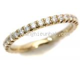 Nhẫn Cartier eternity ring diamond K18YG