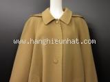 MS2840 Áo khoác Burberrys size 11A màu kem vàng