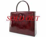 Túi Cartier xách tay happy birthday màu đỏ
