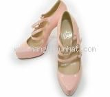 MS2862 Giầy Christian Louboutin size 36 1/2 màu hồng patent