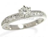 Nhẫn kim cương TIFFANY&Co 0.34ct
