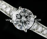 Nhẫn Cartier kim cương size 49 0.63ct